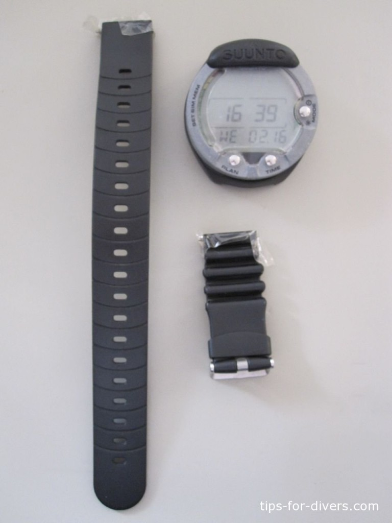 How to replace computer watch strap with rubber lines