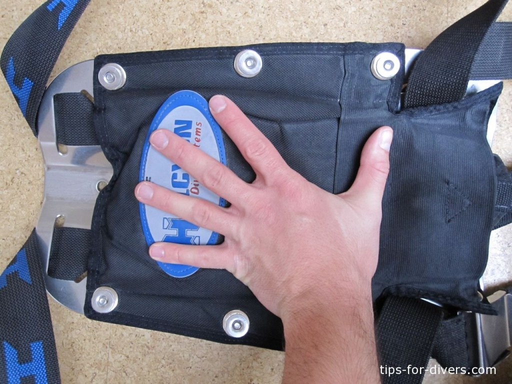 Step 8: Check the lift bag's fit