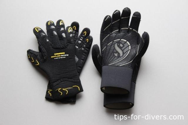 Neoprene Gloves for Scuba Divers